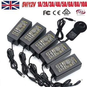 DC 5/12V/24V A 2A 3A 5A 10A Power Supply Transformer Adapter For Led Strip Light