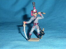 476A Starlux Atlas Figurine Plomb Empire Officier Longue Vue 1/32 Napoleon