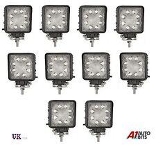 10X 12V 24V WATERPROOF 24W 8 LED WORK FOG SPOT LIGHTS LAMP OFFROAD JEEP CAR 4X4