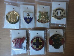 7 X US Army Crest