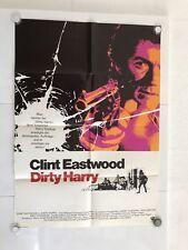 Dirty Harry  Original Filmplakat Poster A1 Jahr 1971 Clint Eastwood
