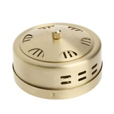 Portable Copper Acupuncture Moxa Box Moxibustion Therapy Moxa Stick Burner Box