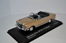 Mercedes-Benz 280SE W111 3.5 Cabrio 1/43 Minichamps NEW condition