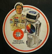REEL  Pubblicitaria     Formula 1   Gilles  VILLENEUVE   Autografata