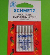 Nähmaschinen Nadel,Schmetz Stick-Nadel Embroidery für Sticken Stärke 90/14