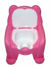 New Pink Easy Clean Kids Toddler Potty Training Seat Removable Potty Lid