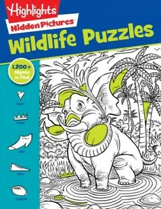 Highlights Favorite Hidden Pictures Wildlife Puzzles, Paperback by Highlights...