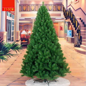 3/4/5/6/7/10/13 ft PVC Artificial Christmas Tree Stand Holiday Party Holiday Dec