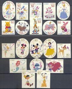 Japan -Walt Disney's characters 2012 two complete series