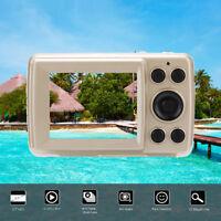 "2.4""HD Screen Digital Camera 16MP Anti-Shake Face Detection Camcorder Blank GD E"