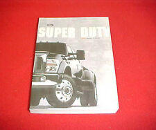 2008 FORD NEW F 250 350 450 SUPER DUTY TRUCK OWNERS MANUAL SERVICE GUIDE 08 OEM