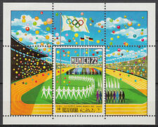 Ras al Khaima 1970 ** Bl.86 A Olympische Spiele Olympic Games Stadion Stadium