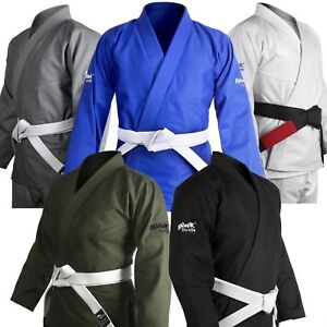 BJJ Gi For Men Women Brazilian Jiu Jitsu Gi Uniform Kimono Adult Judo Free Belt