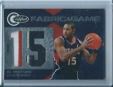2011-12 Totally Certified Fabric of the Game Al Horford Patch 1/25