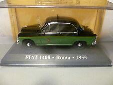 FIAT 1400 : TAXI DE ROME de 1955 ~  NEUF