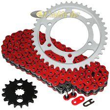Red O-Ring Drive Chain & Sprockets Kit Fits SUZUKI GSX-R1000 2009-2016