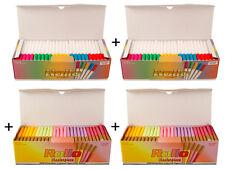"""2x Rollo ACCENT+MASTERPIECE 200 """"farbig"""" (Hülsen,Filterhülsen,Zigarettenhülsen)"""