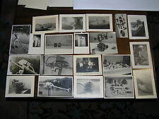 FM543_21 VECCHIE FOTOGRAFIE di Motori fuoribordo e componenti