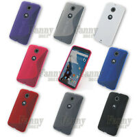 Soft Gel TPU Case Cover For Motorola Nexus 6, Nexus X, XT1103 XT1100