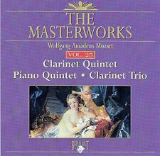 The Masterworks Vol. 25-Mozart Clarinet Quintet,Piano Quintet,Clarinet Trio CD