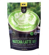 Organic Japanese Matcha Latte Mix, Jade Leaf Organics, 150 gram pouch
