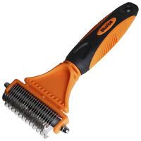 Pet Dog Cat Comb Brush Grooming Rake Comb Dematting Groom Shedding Fur Hair Coat