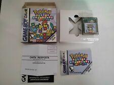 Pokemon Puzzle Challenge - Game Boy Color - Complete - Gradiente Brazil - 100% A