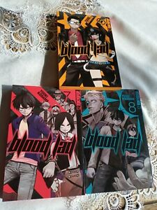Blood lad Manga 6-8 Sammlung Tokyopop
