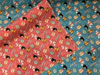 Boom Pow Wow Polycotton Dress Fabrics Craft Kids FUN CHILDREN 112 CM WIDE