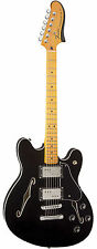 Fender Modern Player Starcaster Maple Neck in Black