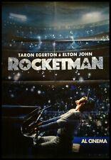 ROCKETMAN Manifesto Film 2F Poster Originale Cinema ELTON JOHN EGERTON FLETCHER