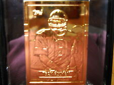 TROY AIKMAN 1989 TOPPS CARD # 70T HIGHLAND MINT GOLD CARD # 172/375