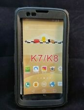 Shockproof Hybrid Rubber Case Cover For K7 K8 - Black