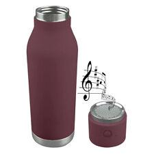 Asobu Double Walled  Cold Hot Water Beverage Bottle Bluetooth Speaker #BT60BURG