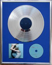 """Placebo Sleeping with gerahmte CD Cover +12"""" Vinyl goldene/platin Schallplatte"""