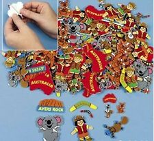20 Down Under Australia Sticker Shapes Scrapbooking Kid