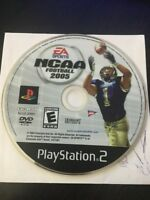 NCAA Football 2005 (Sony PlayStation 2, 2004) DISC ONLY