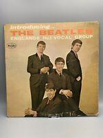 "THE BEATLES ""Introducing The Beatles"" Vinyl Album VEE-JAY LP1062 Black Label"