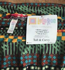 Lularoe  Leggings  Tall & Curvy multicolored NWT