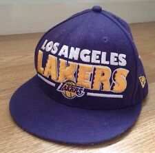 NEW ERA Los Angeles Lakers NBA Violet Casquette Réglable Chapeau