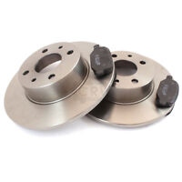 Brake Discs Pads Front For Smart Fortwo Coupe 450 0.8 CDI 0.7