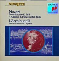 Mozart Divertimento K. 563 - 4 Adagios & Fugues After Bach [ CD ALBUM]