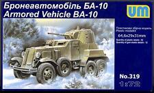 UM-MT Models 1/72 Soviet BA-10 ARMORED CAR