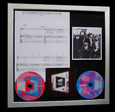 PINK FLOYD Set Controls Heart Sun TOP QUALITY CD FRAMED DISPLAY+FAST GLOBAL SHIP
