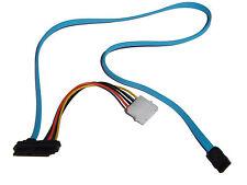 7 Pin SATA Serial ATA zu SAS 29 Pin & 4 Pin Molex Adapter