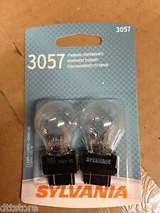 Sylvania 3057 Tail Light Bulbs - Pack of 2  P/N 38059 - Model 3057BP