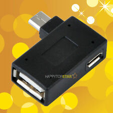 OTG Adapter USB Female to USB Micro Female Power & Male Android Tablet PC Phone