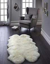 ORIGIN NATURAL LUXURY AUSTRALIAN SHEEPSKIN RUG QUAD 120 x170cm approx NEW £300