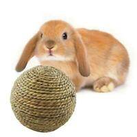 Toys Pet Pig Natural Chew Grass Rabbit Guinea LC Woven Hamster Straw Ball Toys