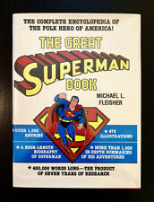 The Great Superman Book by Michael Fleisher, 1978, 1ST Edition / 1ST Printing
